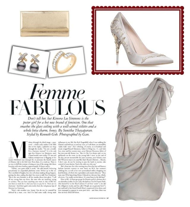 """Untitled #147"" by joanna-tabakou on Polyvore featuring Roksanda Ilincic, RALPH & RUSSO, Michael Kors and Jimmy Choo"