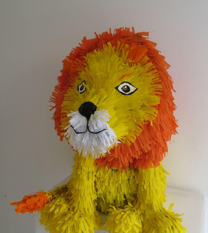 Pi ata lion tr s belle pinata du roi des animaux pour un - Animaux du roi lion ...