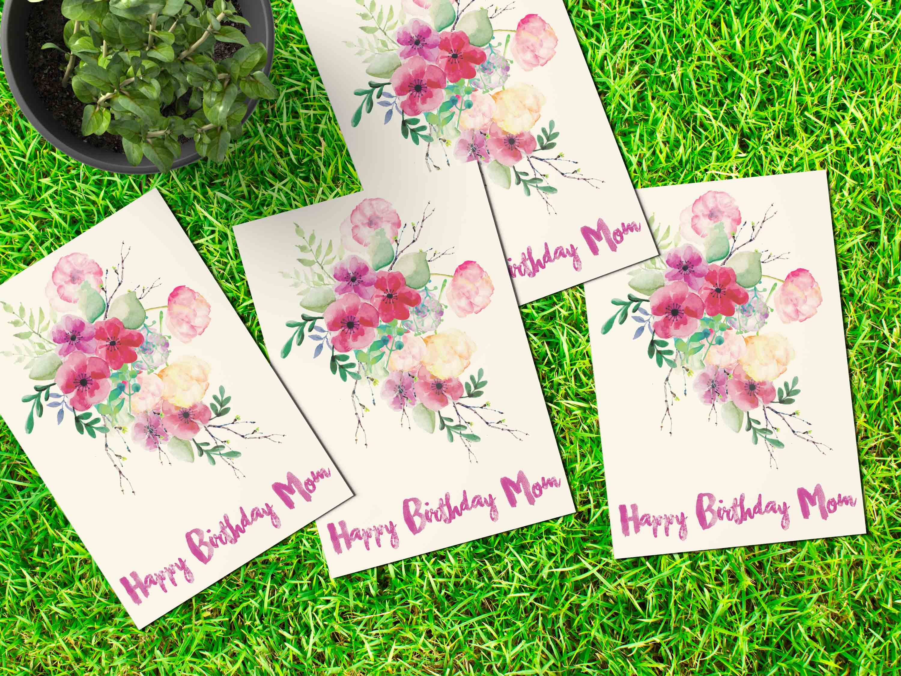 Birthday cards for mother with gathering of flowers on it birthday cards for mother with gathering of flowers on it izmirmasajfo