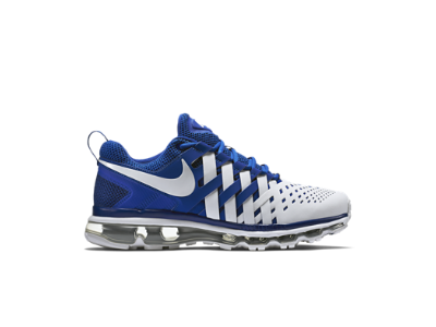nike finger trap max free blue and white
