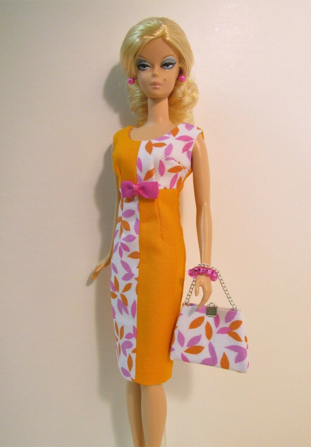 Handmade Fashion For Original And Articulated Poseable Silkstone Barbie Ebay Vintage Barbie Clothes Barbie Clothes Barbie Dress