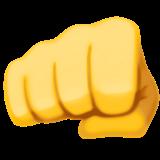 Oncoming Fist Emoji On Facebook 3 1 Fist Emoji Images Fist Bump