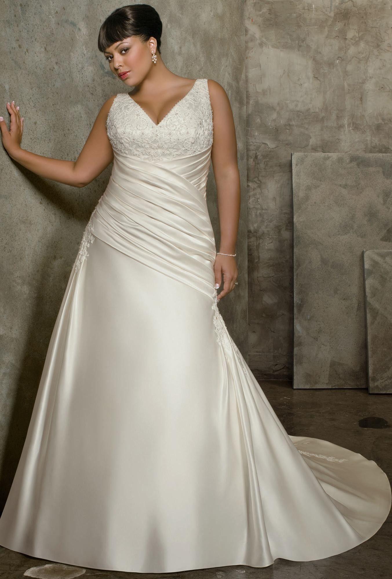 plus size weding dresses cheap 18 #plus #plussize #curvy | Plus Size ...