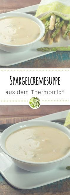 Photo of Cream of asparagus soup from Thermomix®