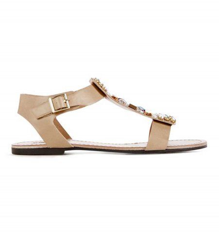 meilleur site web 53b11 4f569 40 sandales plates d'été qui font leur petit effet ! | Shoes ...