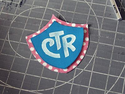 CTR shield made from fabric