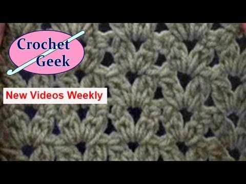 How to Crochet knit ENGLISH Easy Cluster Stitch Blanket Afghan Free ...