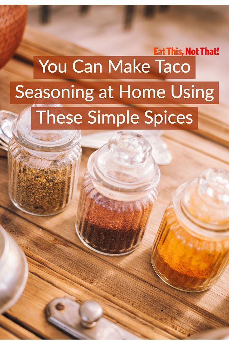 The Easiest Homemade Taco Seasoning Recipe #tacoseasoningpacket You probably have all the ingredients in your pantry right now to make your own taco seasoning and didn't even know it! Check out this recipe using simple spices. #spices #taco #taconight #tacoseasoning #tacoseasoningpacket The Easiest Homemade Taco Seasoning Recipe #tacoseasoningpacket You probably have all the ingredients in your pantry right now to make your own taco seasoning and didn't even know it! Check out this recipe using #tacoseasoningpacket