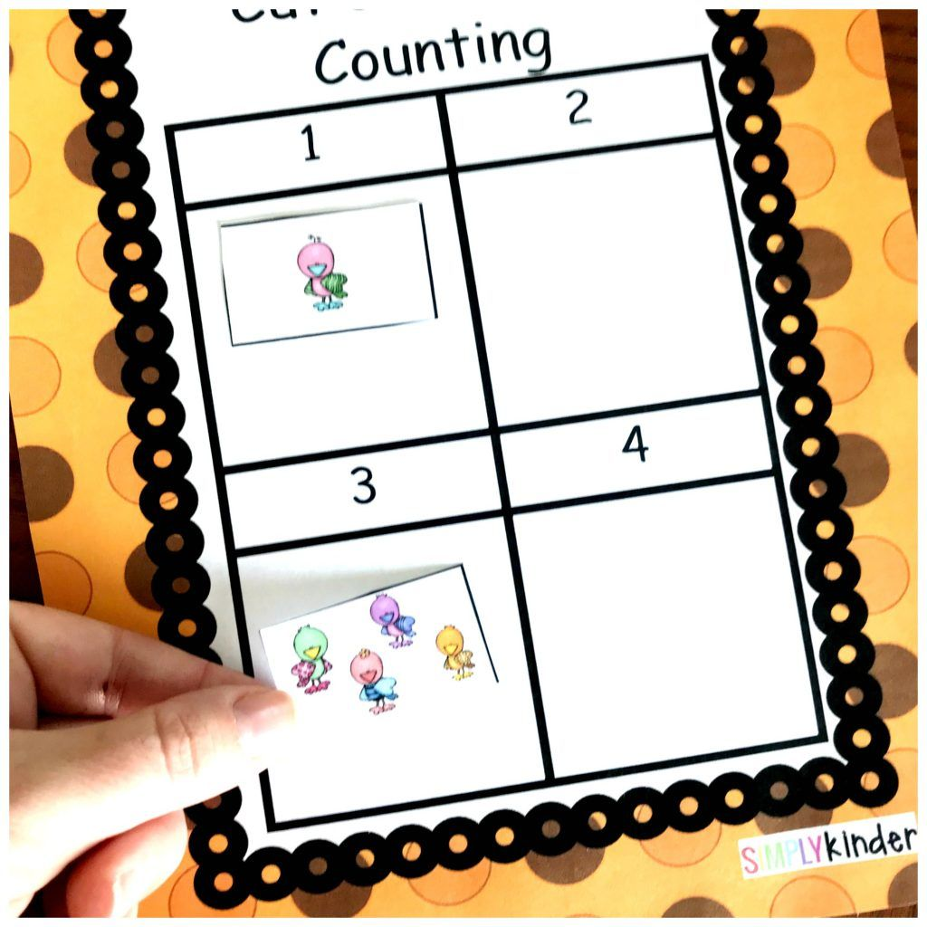 Free Cut And Paste Counting And Number Recognition
