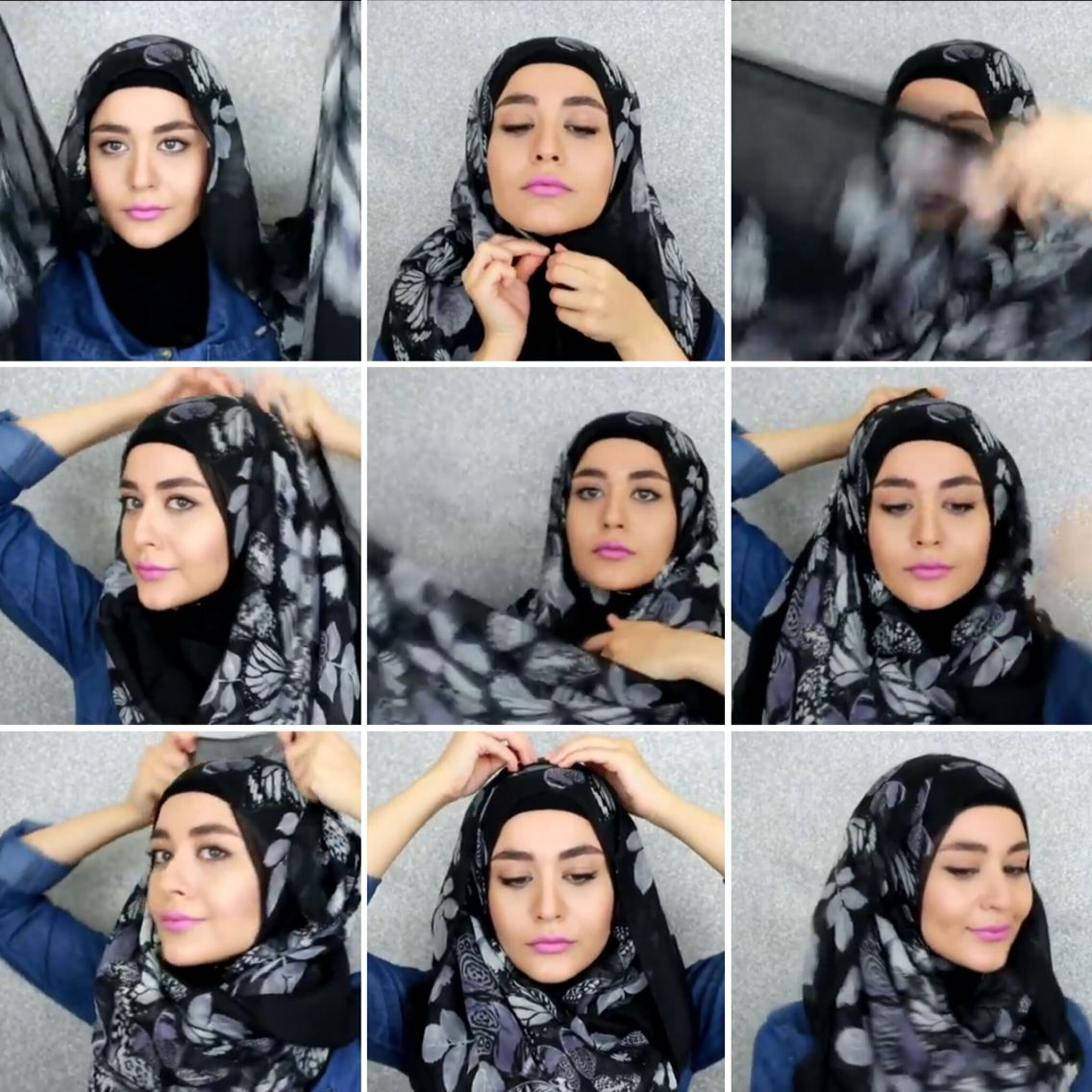 Muslim Queens Hijab Tutorial Hijab Tutorials Pinterest Hijab