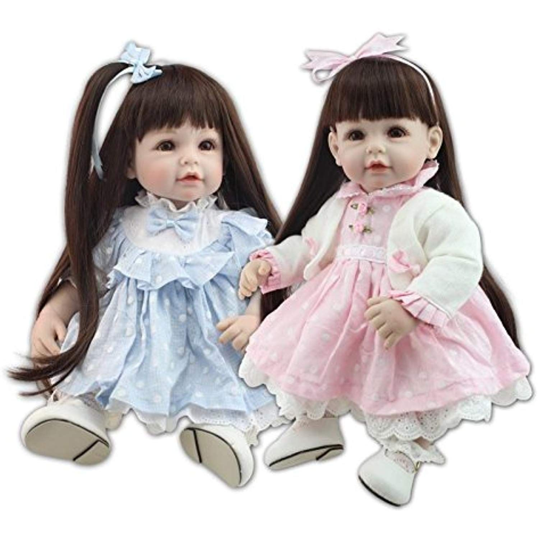 "20/"" Reborn Baby Doll Bebe Silicone Vinyl Lifelike Dolls Birthday Girl Gift New"