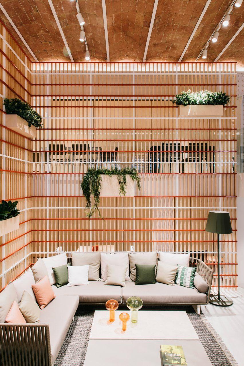 Patricia Urquiola S Showroom Interior For Kettal Celebrates