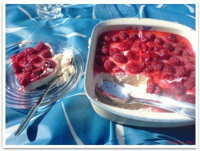 Marjainen kanelijuustokakku :: reseptit :: karppaus.info