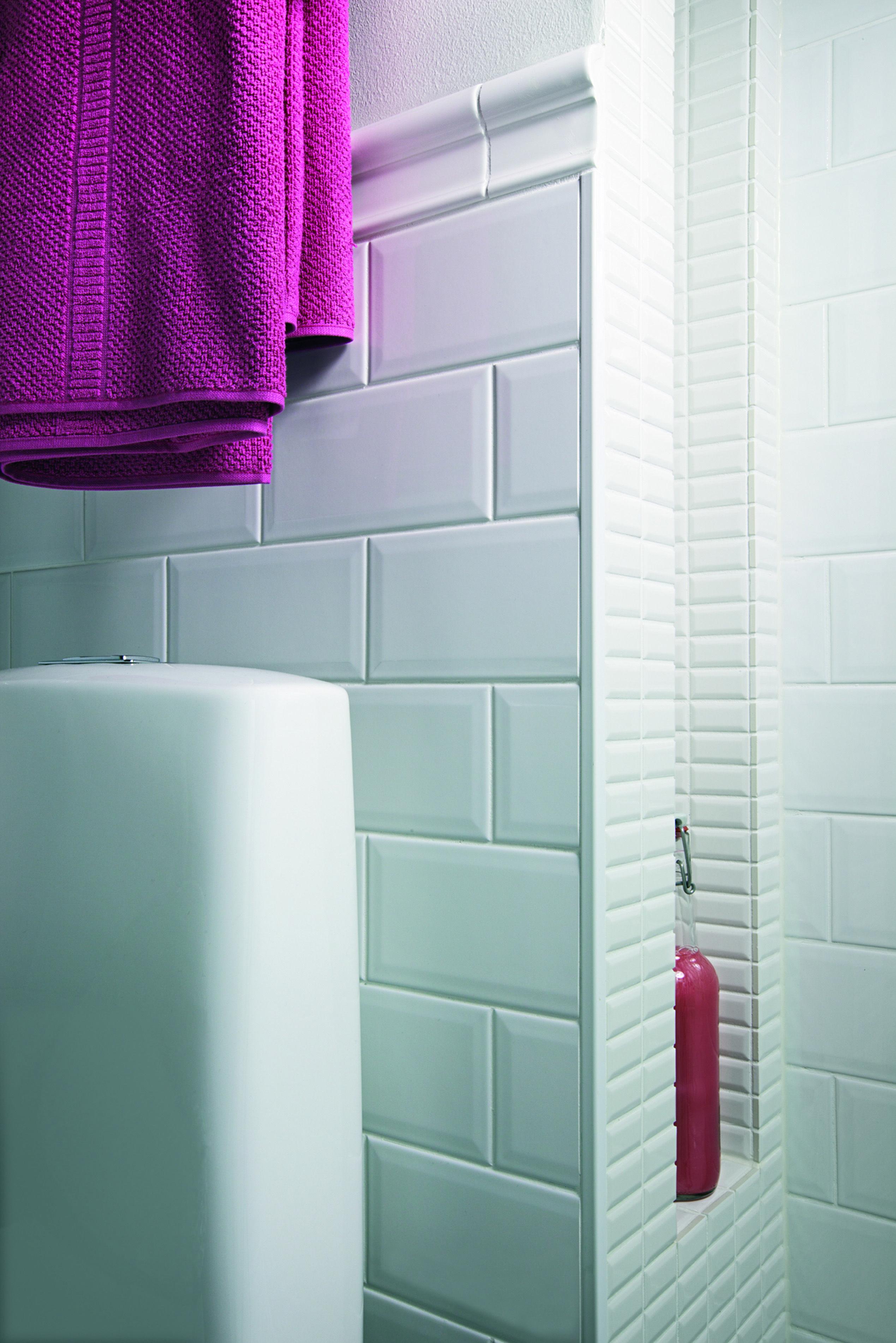Laattalista, Alumiinia, V Ri Valkoinen Tile Trim, Aluminium, Colour White