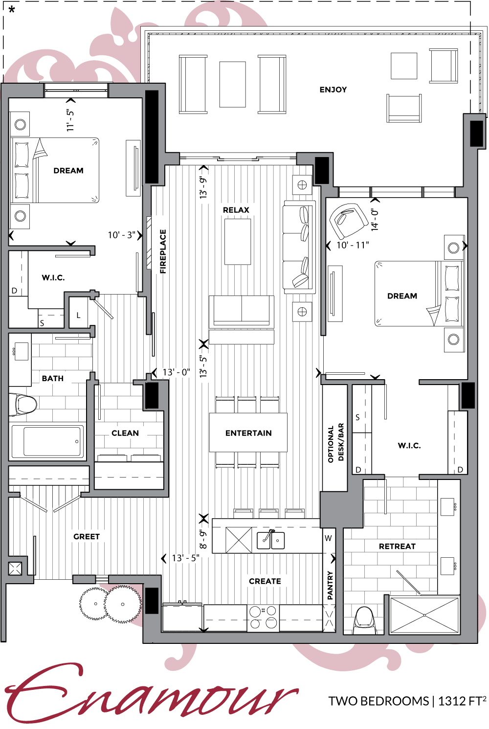Floor Plans Allure Luxury Condos Condo Floor Plans Penthouse Apartment Floor Plan Condominium Floor Plan