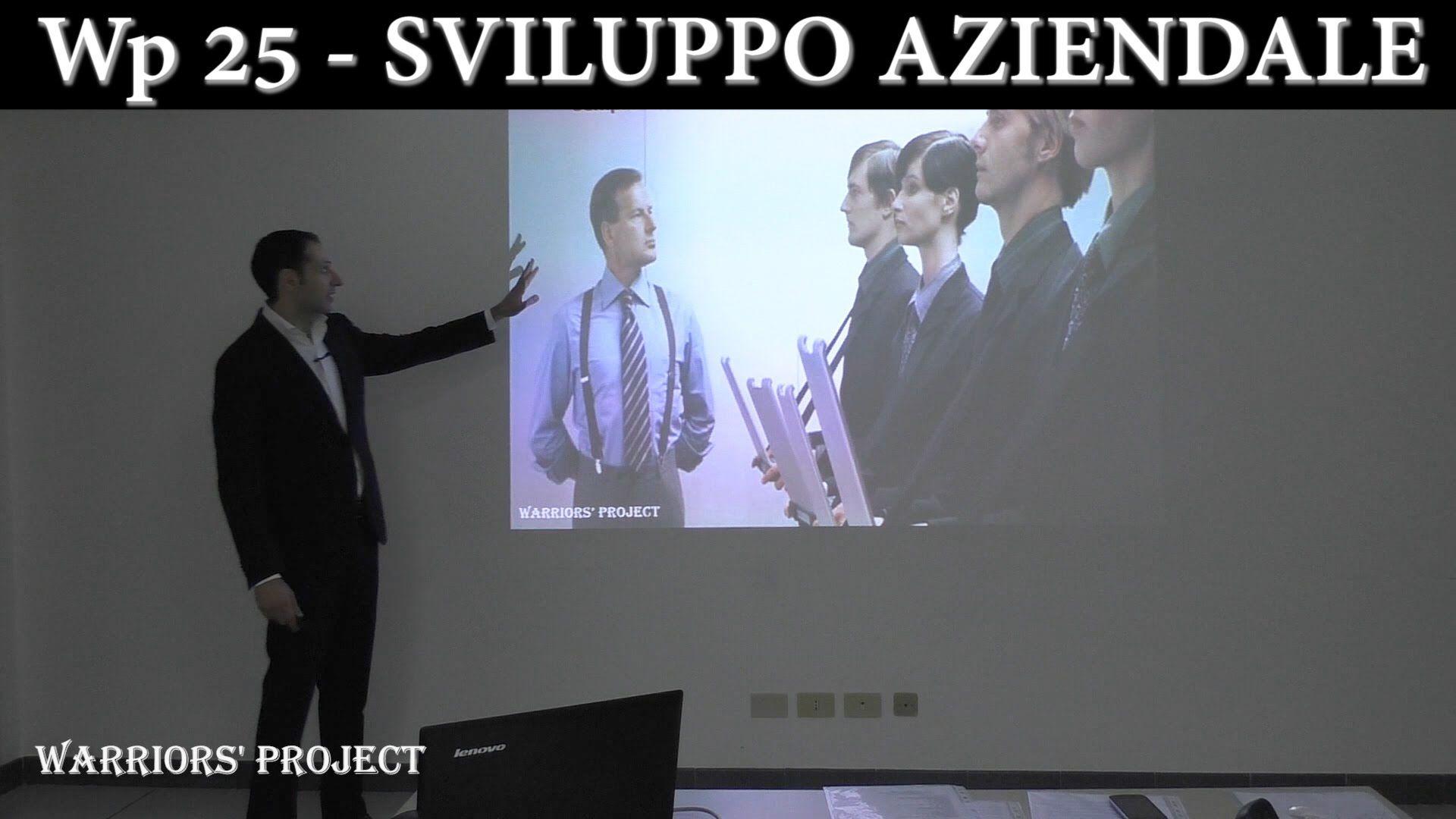 Wp 25 - Sviluppo aziendale