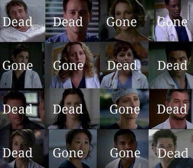 Watch Grey\'s Anatomy they said it\'ll be fun they said... But ...