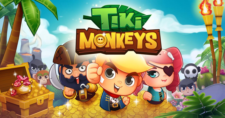 TikiMonkeys_Banner.png (1440×757) Game logo design, Game