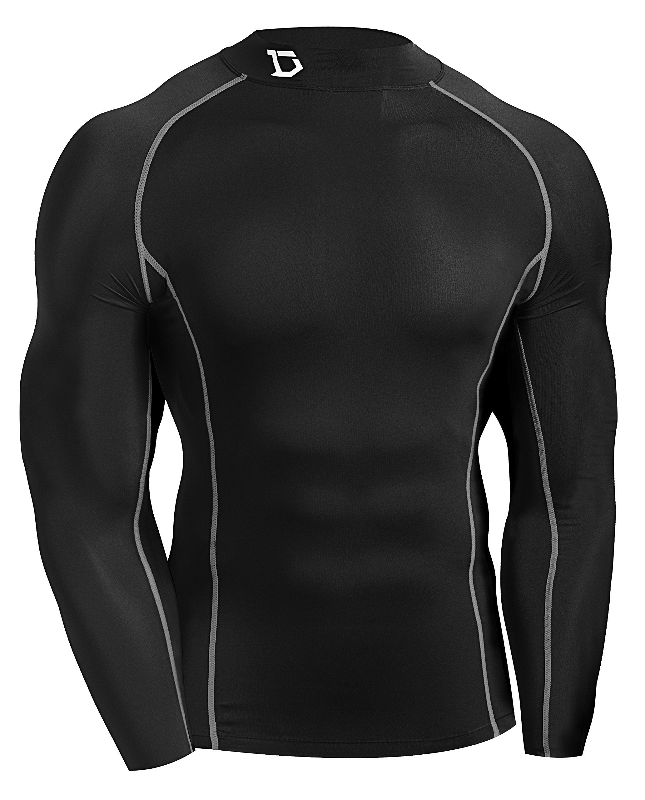 Defender New Mens Cool Compression Mock Shirts Tights Skin Clothe Baseball  BS 2XL    To view further for this item d7284e1c41