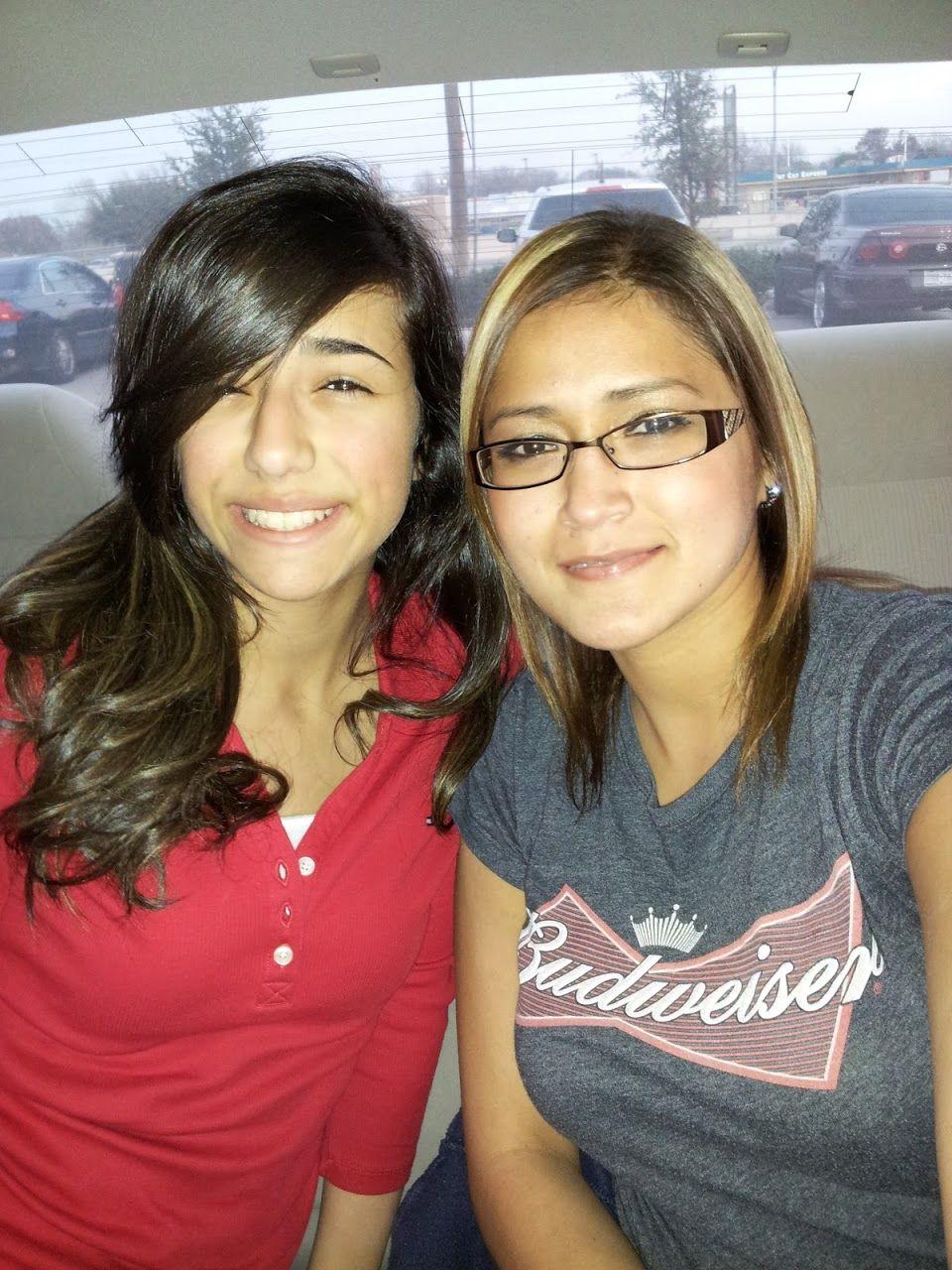 My sis sabrina and I