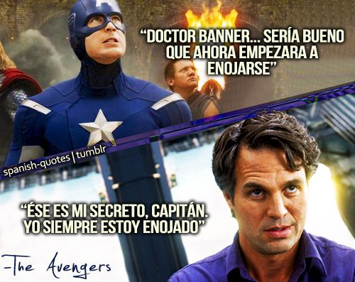 Theavengers Losvengadores Brucebanner Hulk Marvel