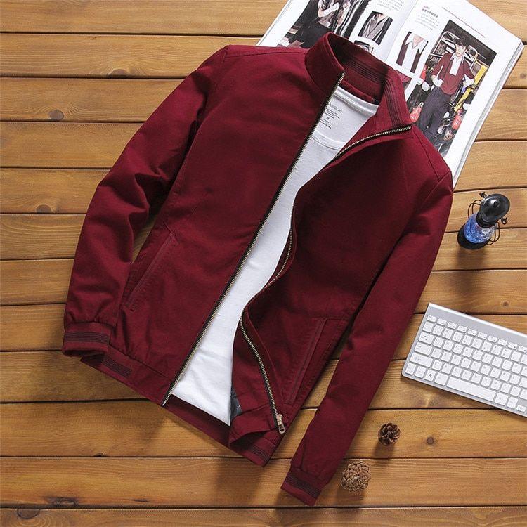 Streetwear Pilot Bomber Jacket Overcoat for Men – Style