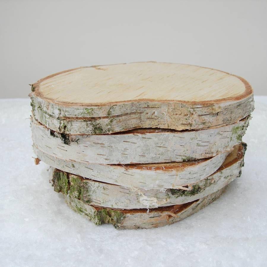 Natural Log Slice X Large Birch Tree Bark Wedding Decoration Wedding Table Decorations Centerpieces Wedding Decorations Centerpieces Wedding Table Decorations