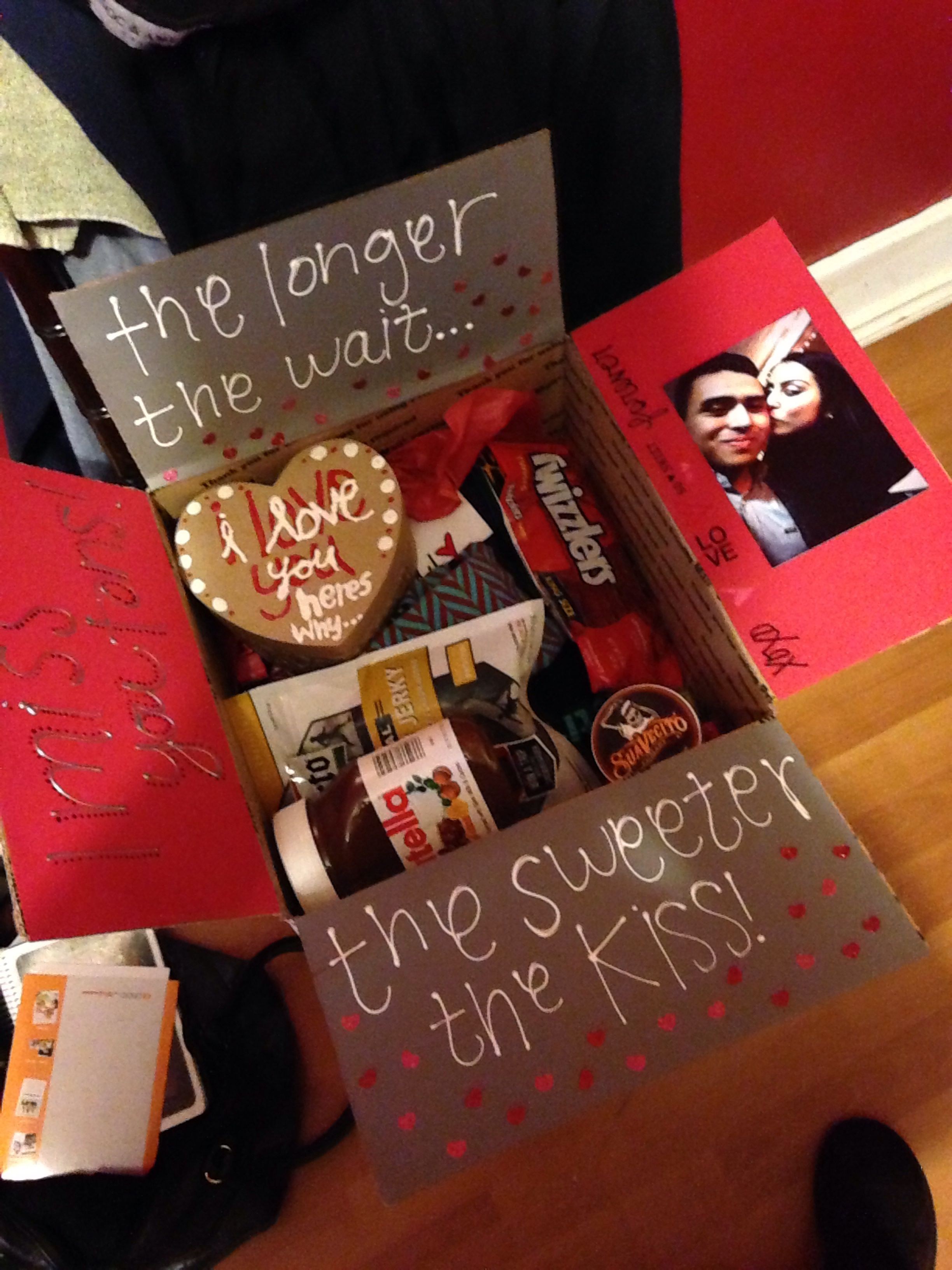 Military Valentines Day Package Cute Ideas