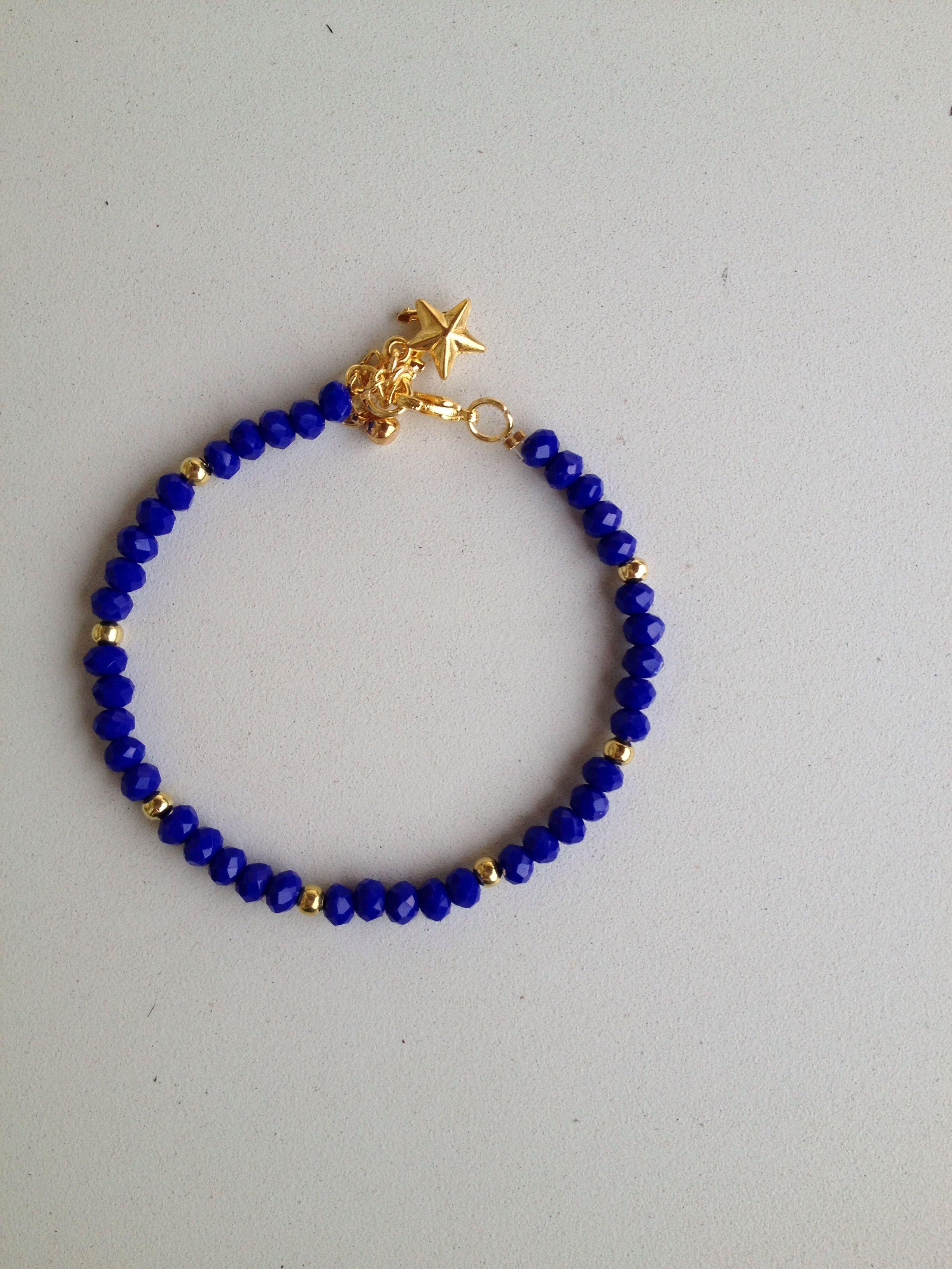 007ea3721cd5 Blue chinese crystal bracelet pulseira de cristal chines azul ...