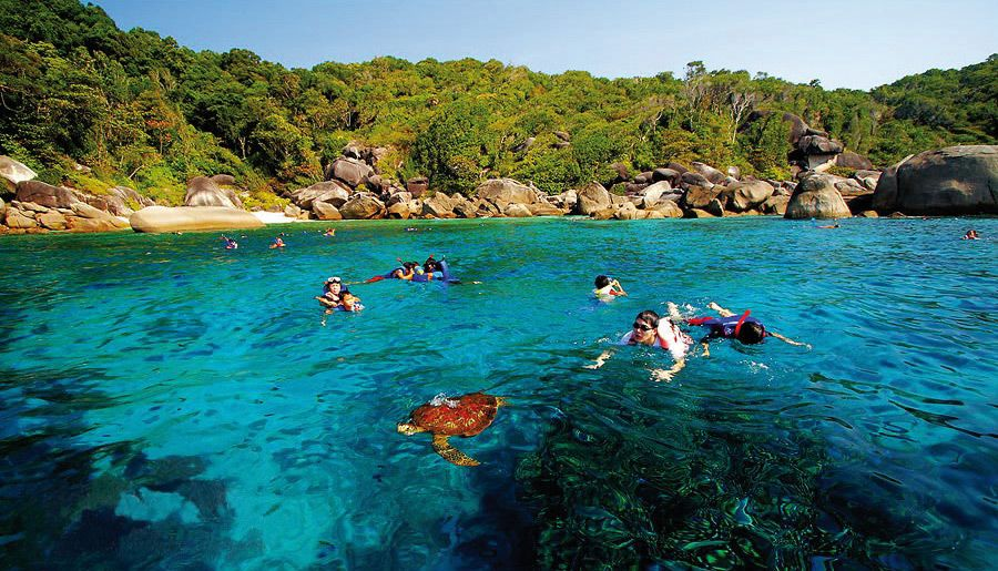 Khao Na Yak Snorkelling and the Similan Islands