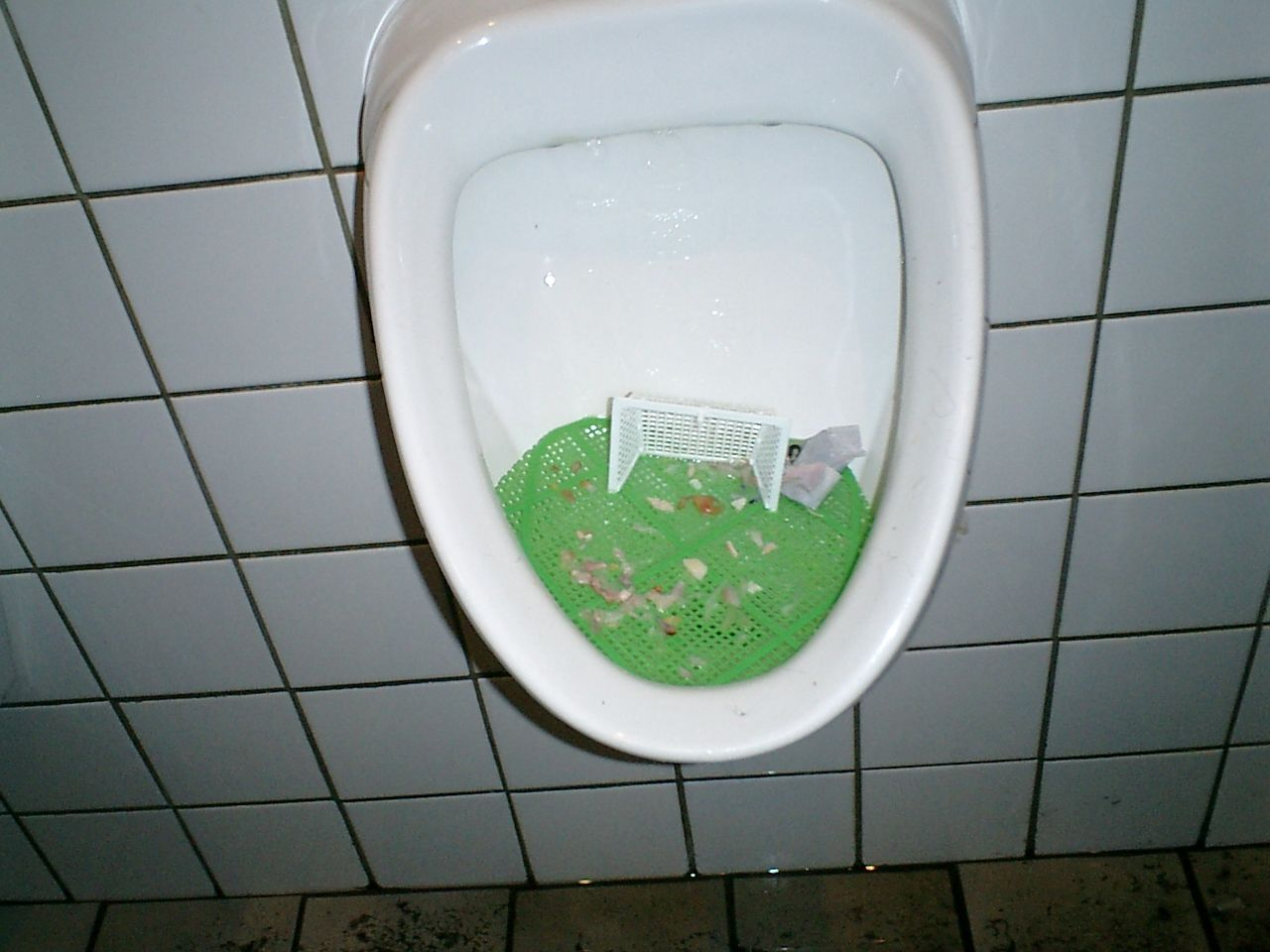 Toiletten Fußball