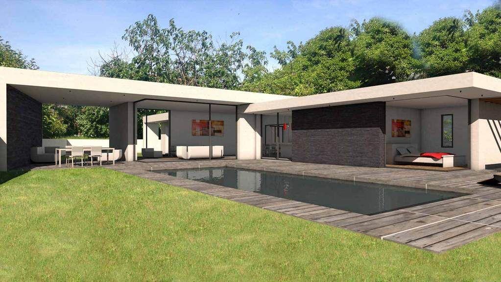 Villa Pierres Plan Maison Architecte Maison Architecte Maison