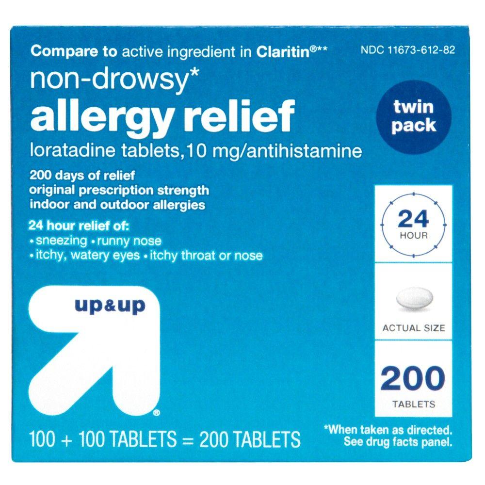 Loratadine Allergy Relief Tablets