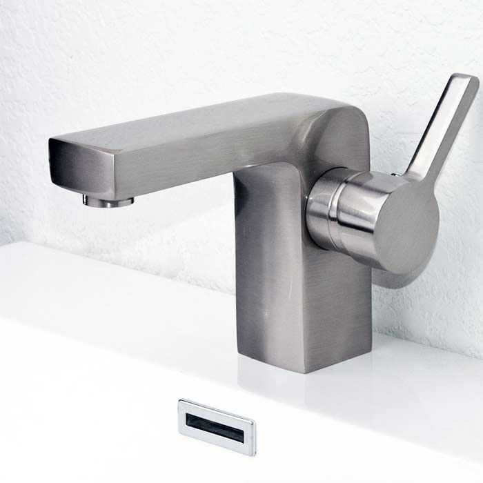 Bathroom Faucet in Brushed Nickel Brette M11048-083B on Conceptbaths ...