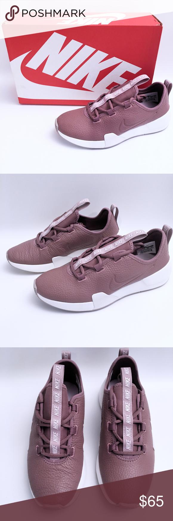 women's ashin modern leather sneakers in mauve