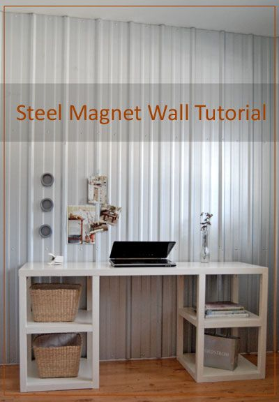 Steel Magnet Wall Magnetic Wall Steel Wall Diy