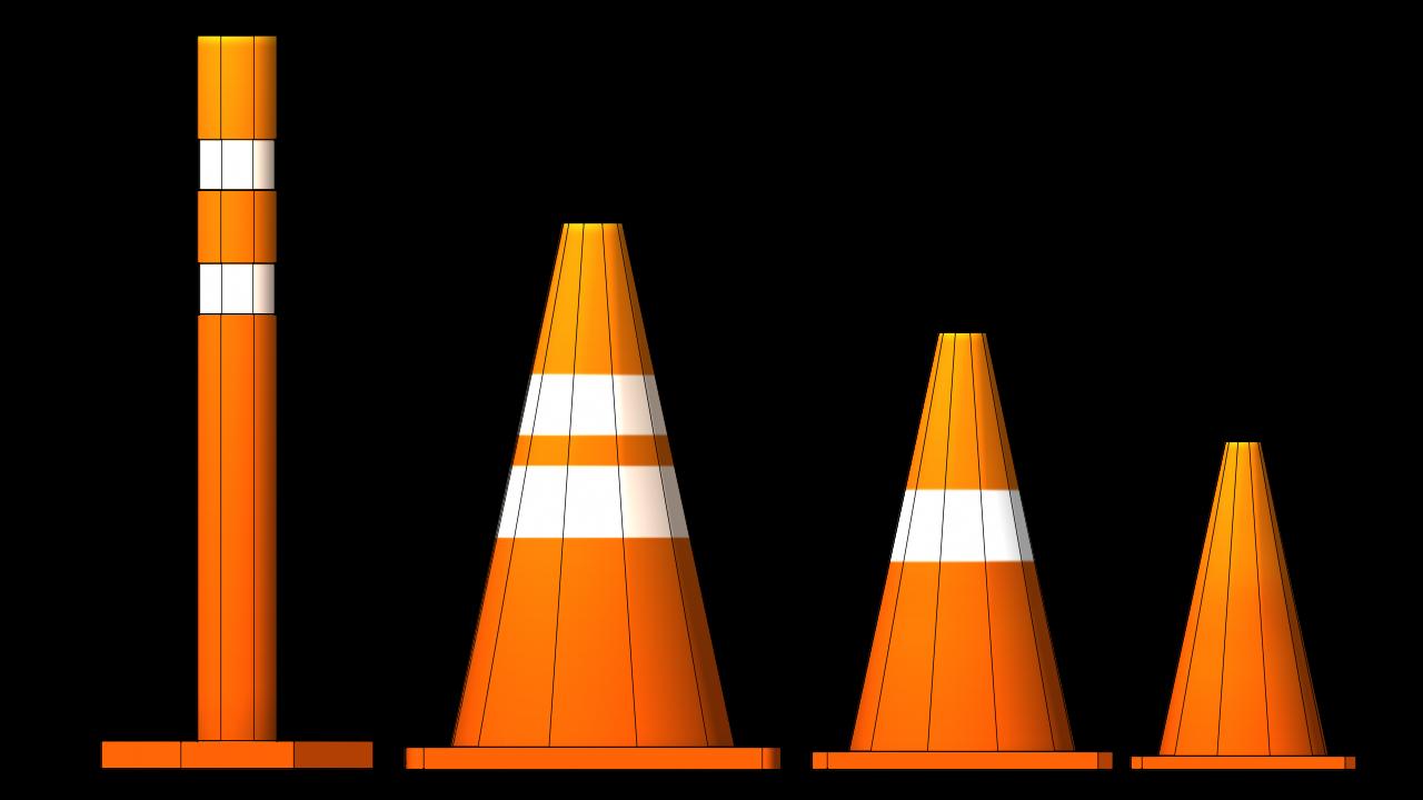 Traffic Cone Traffic Cone Traffic Safety