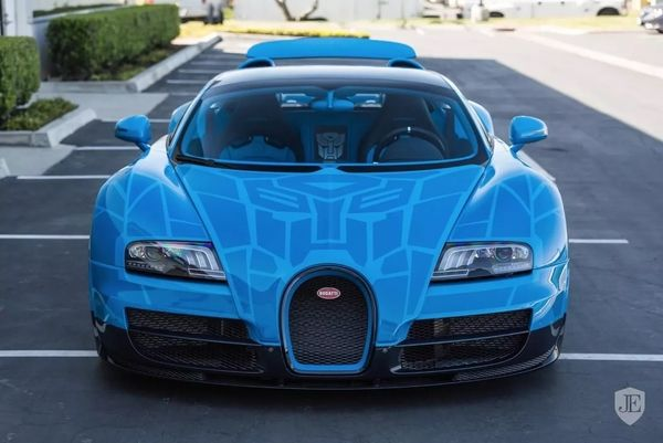 Custom #Transformers Bugatti Veyron Grand Sport Vitesse Car Can Be on
