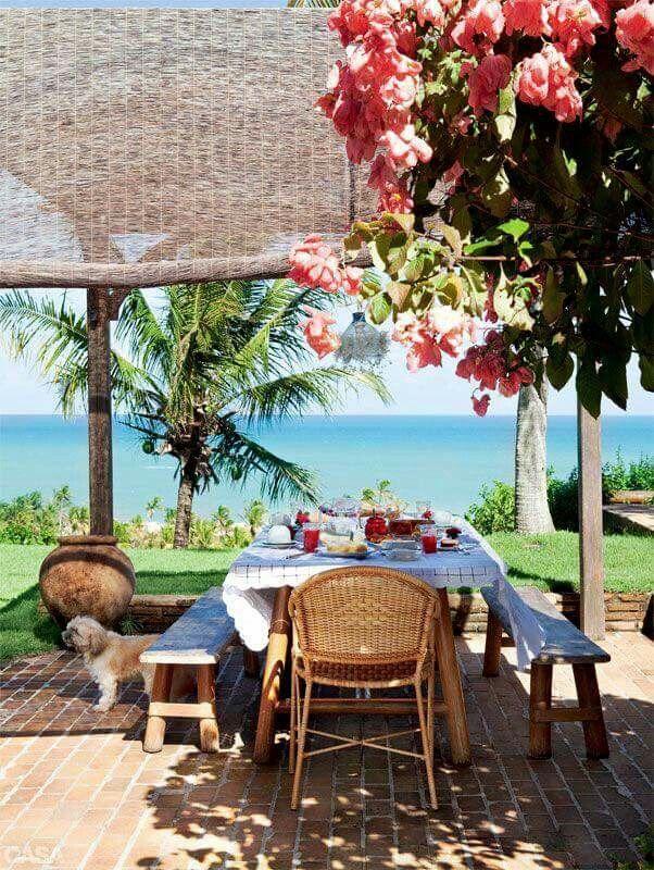Pin De Diana Pavez En Casa De Playa Beach House Casas Frente Al Mar Decoracion Terraza Casas De Playa