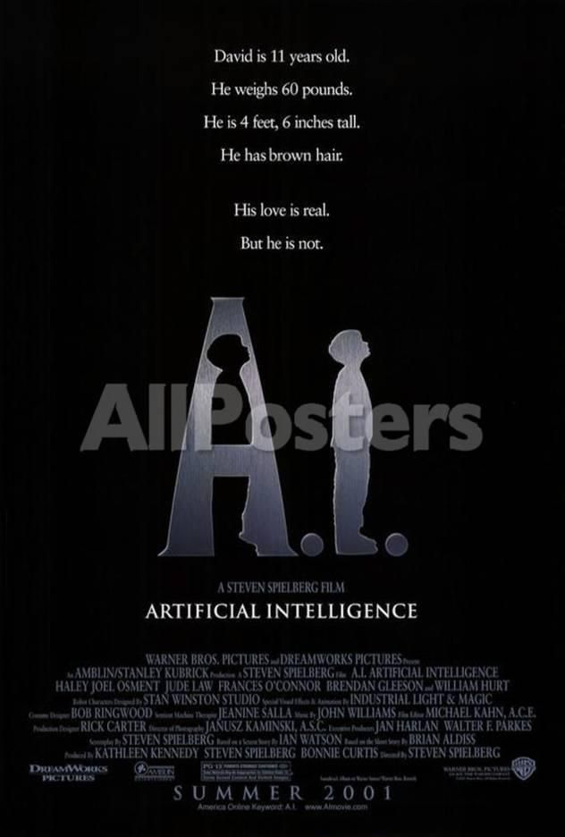 Artificial Intelligence Movie Poster