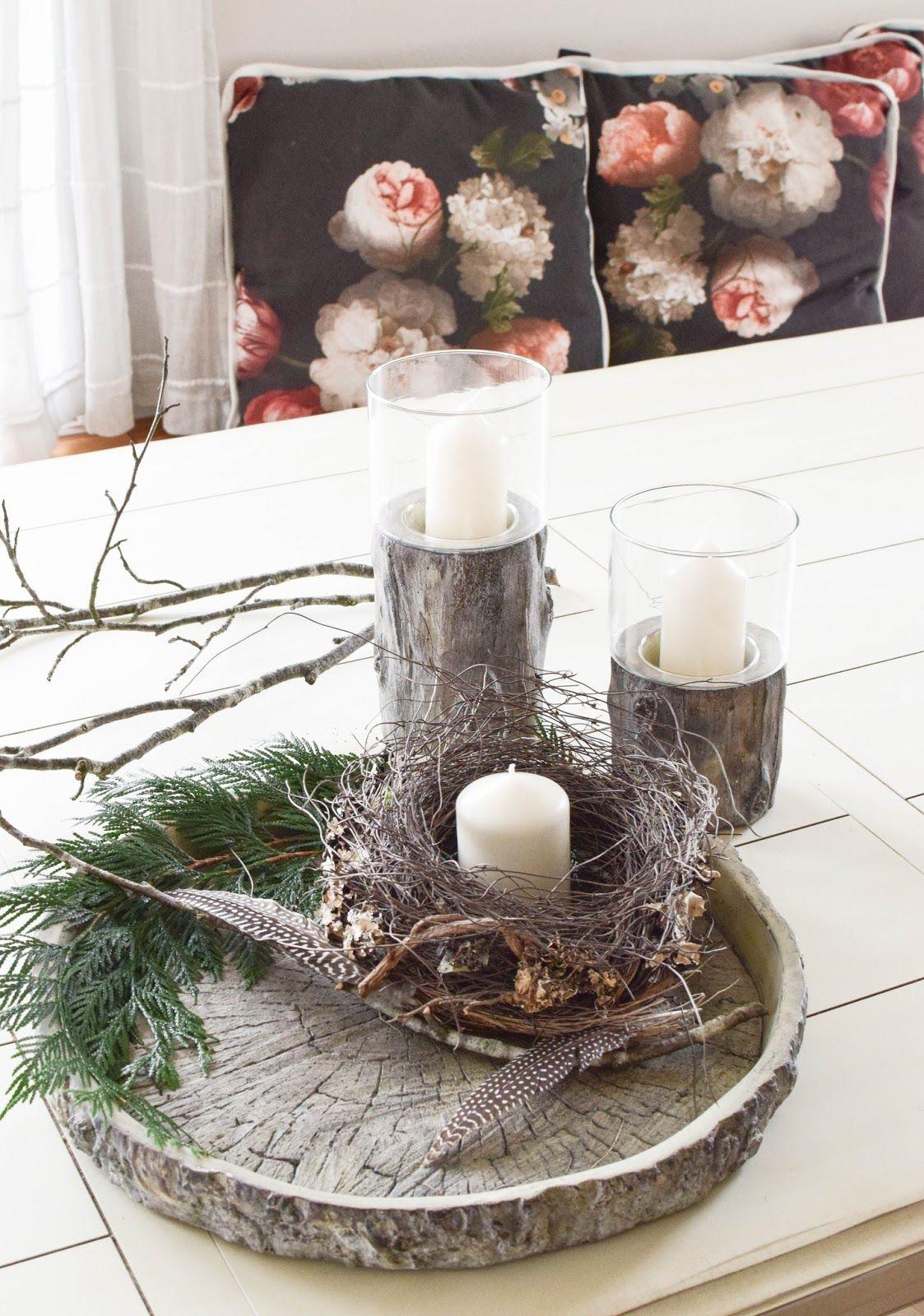 2 kreative diy schalen winterliche deko f r euren tisch - Blog wohnen dekorieren ...