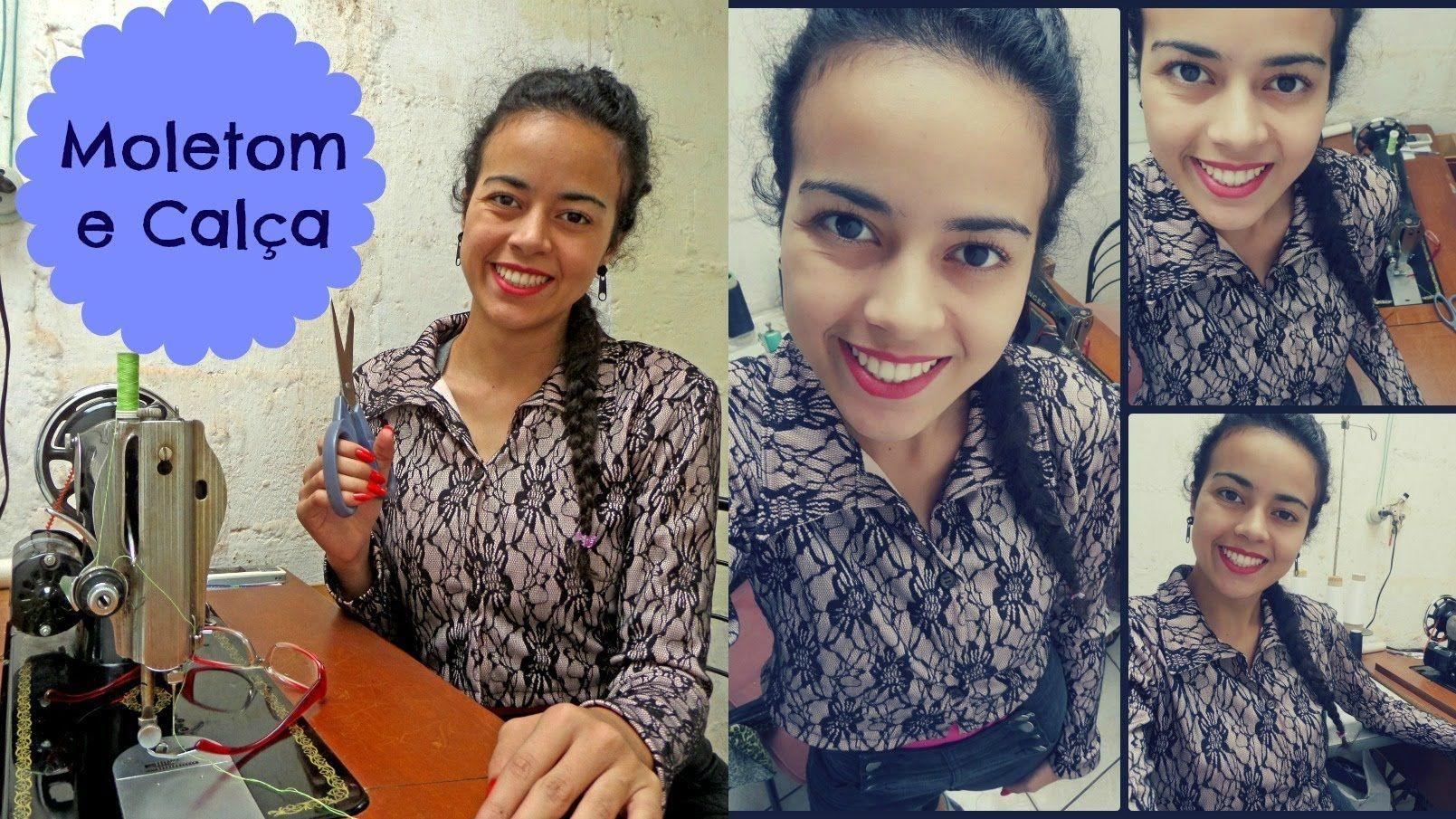 Modelagem de moletom e calça Alana Santos Blogger (+playlist)