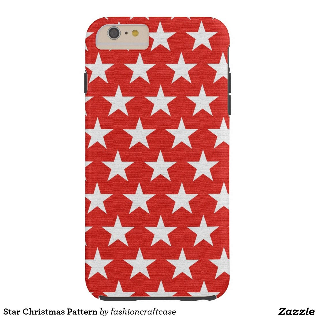 Star Christmas Pattern Tough iPhone  Plus Case  CELL PHONE CASES