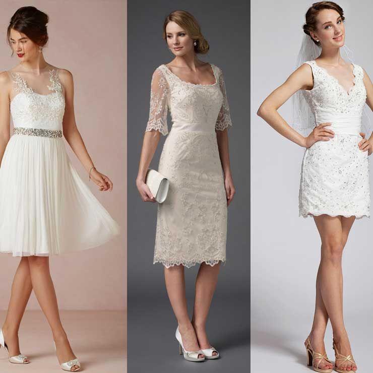Vestidos simples de casamento civil