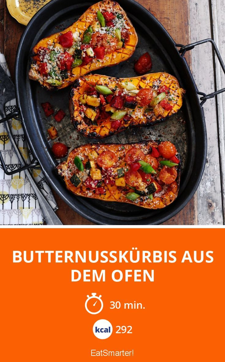 Photo of Butternusskürbis aus dem Ofen
