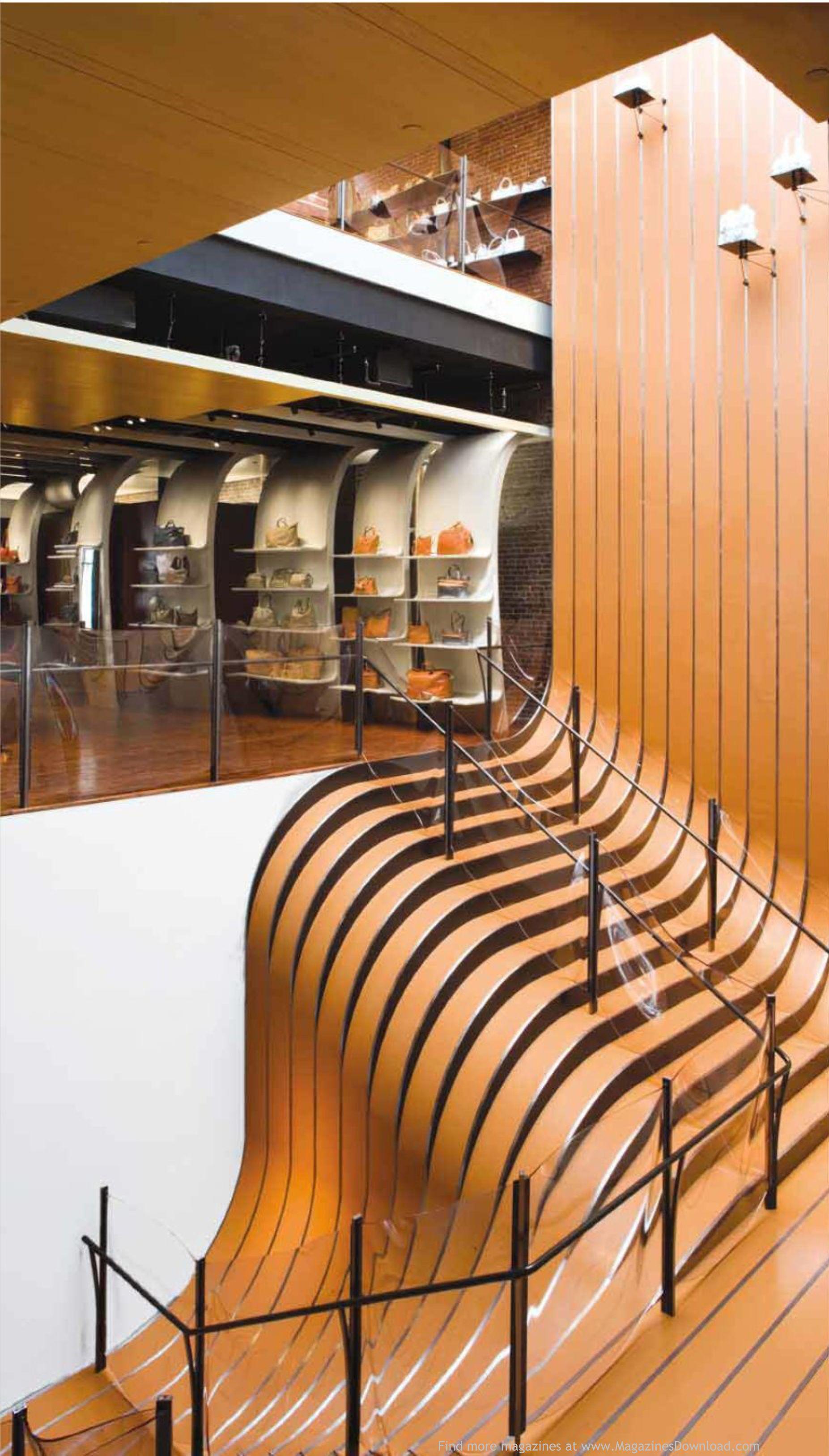 Alejandro interior de dise o futurista bastante bien decorado destacando sus escaleras Diseno interior futurista