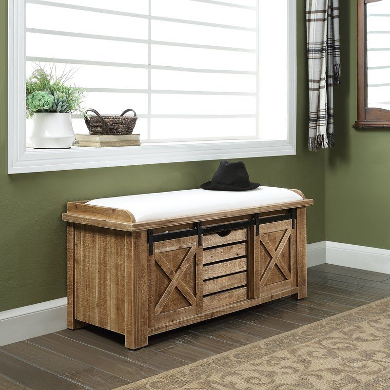 Djanira Storage Bench In 2020 Storage Bench Seating Diy Storage Bench Storage Bench