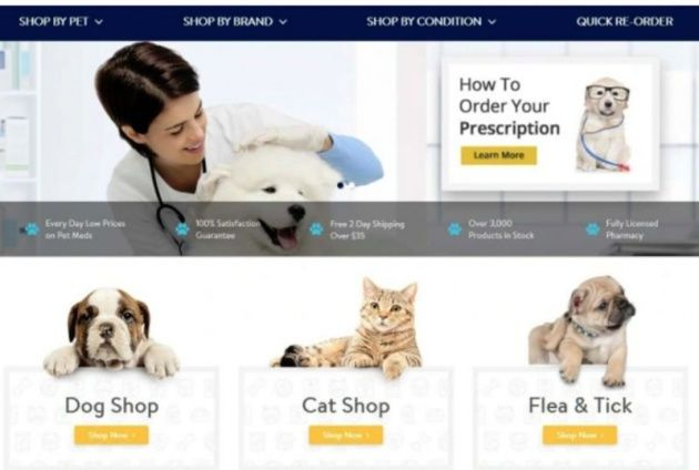 Walmart Opens In Store Pharmacies For Pets Pet Businesses Pets Vet Clinics
