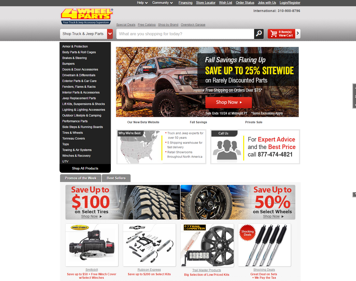 Scrutinize 38 Coupon Codes Of 4 Wheel Parts Get A Chance To Save
