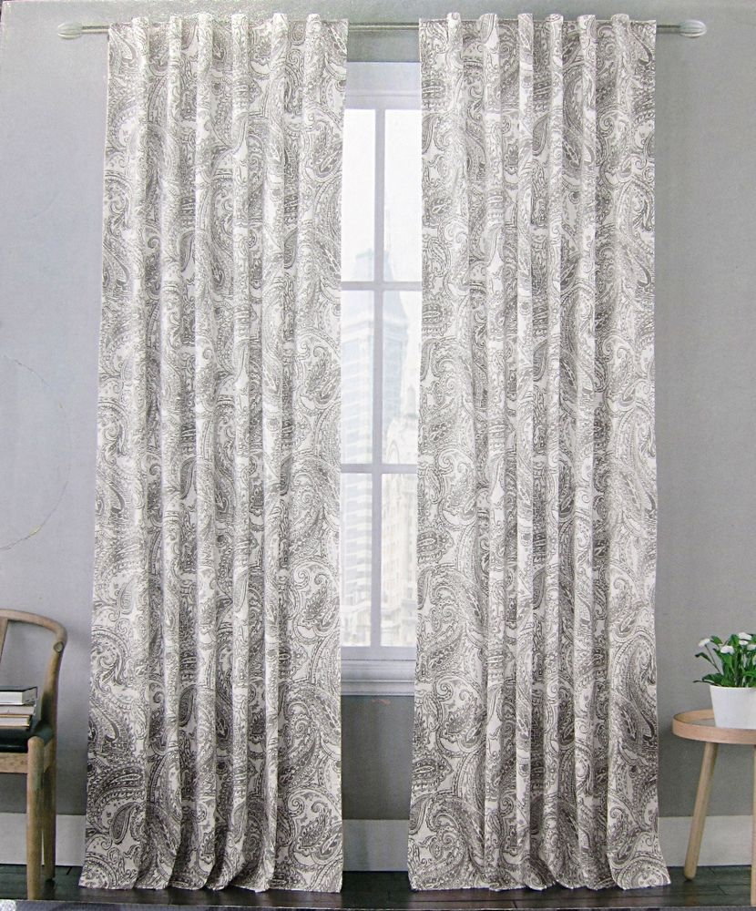 gray cynthiarowley velvet window silver panels grey rowley cynthia pair drapes vintage curtain pin
